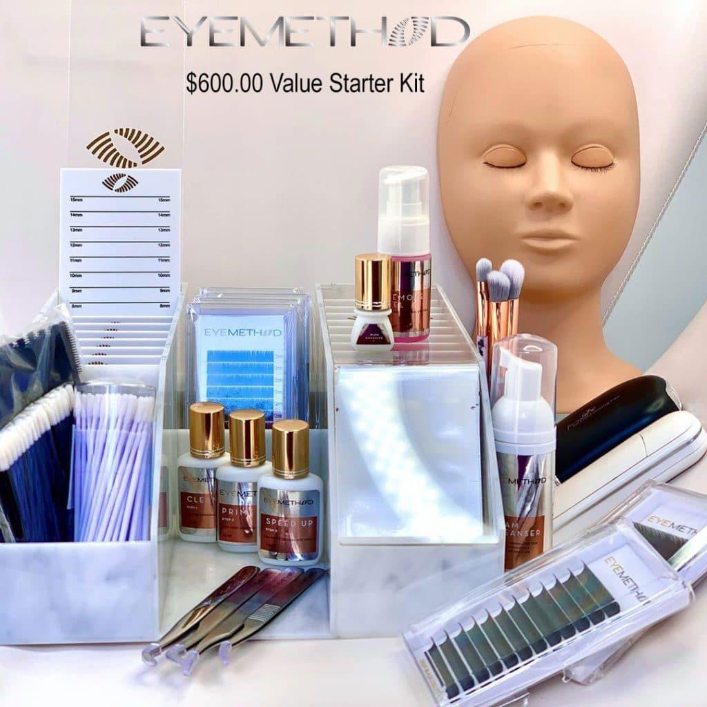 eyelash extensions class kit
